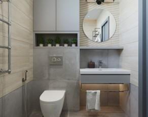 Một số mẫu phòng tắm diện tích nhỏ mà đẹp, tiện nghi sang trọng